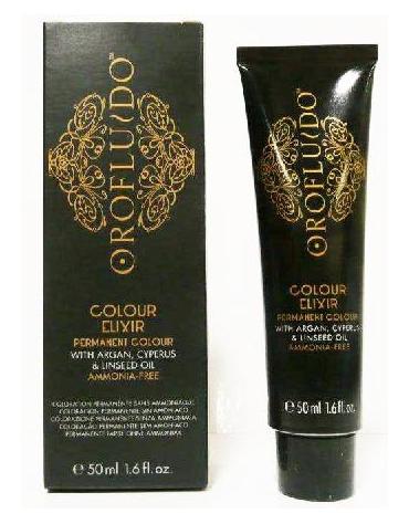 """Orofluido Colour Elixir Castaño Claro Irisado 5.20 50ml """"SIN AMONIACO"""""""