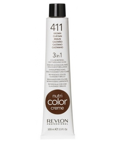Revlon Nutri Color Creme 411 Castaño 100ml