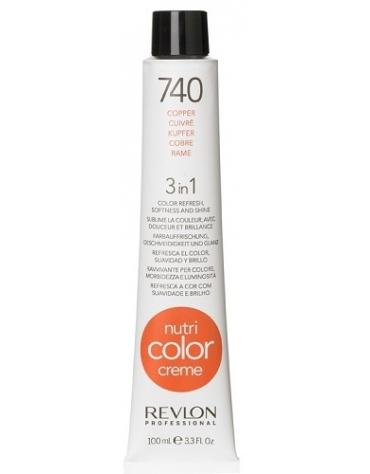 Revlon Nutri Color Creme 740 Cobre 100ml