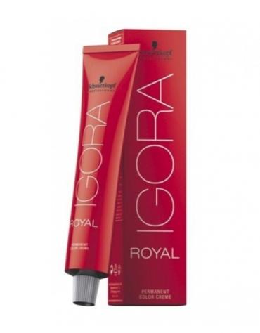 Igora Royal Superaclarante Tinte Ceniza 12-1 + Oxigenada