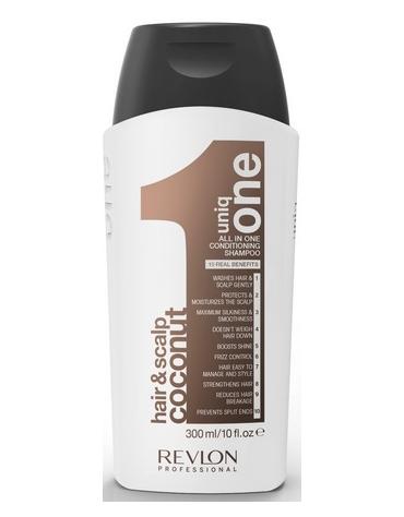 Uniq One 10 En 1 Coconut Hair&Scalp Champú 300ml