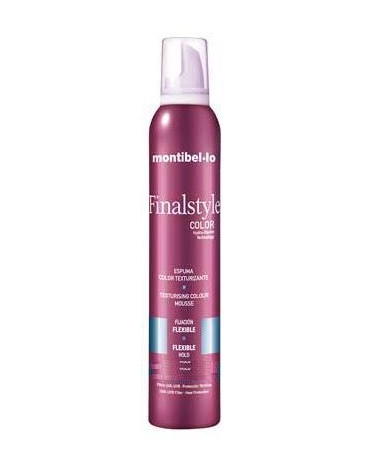 Montibel·lo Espuma Color Texturizante Ceniza 320ml