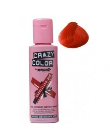 Crazy Color Nº40 Vermillon Red 100ml